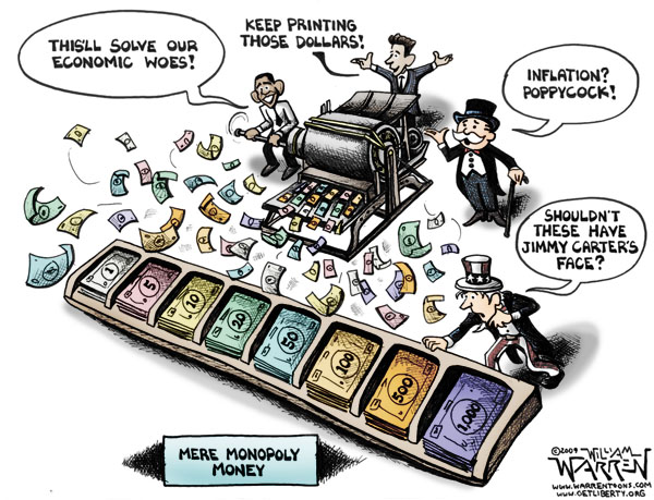 the economy monetary policy and monopolies