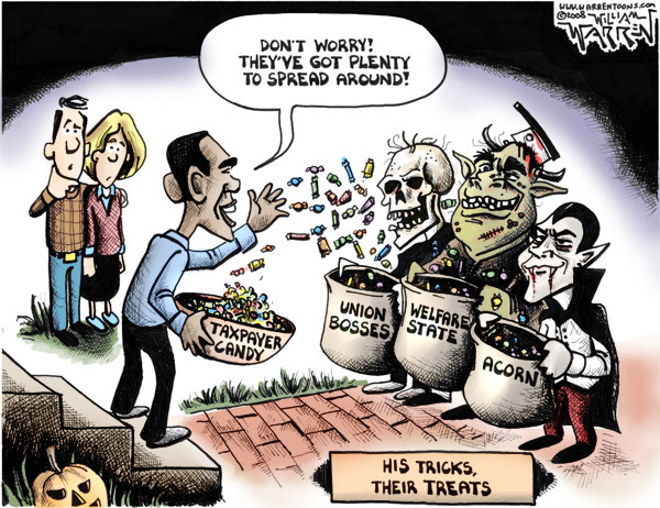 Barack Obama's Trick or Treat