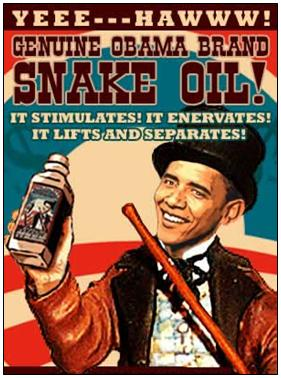 Dr. Obama's Swamp Root Snake Oil